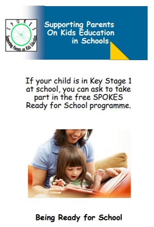 Supporting Parents on Kids Education in Schools (SPOKES) Leaflet
